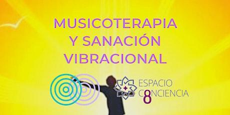 TALLER MUSICOTERAPIA Y SANACIÓN VIBRACIONAL CON ENRIQUE ENCINAS entradas