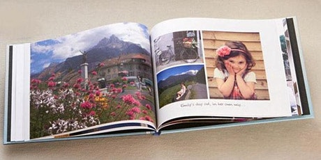 How to create your own Photo Book Workshop tickets