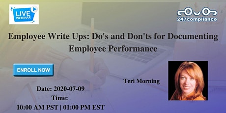Employee Write Ups: Do's and Don'ts for Documenting Employee Performance tickets