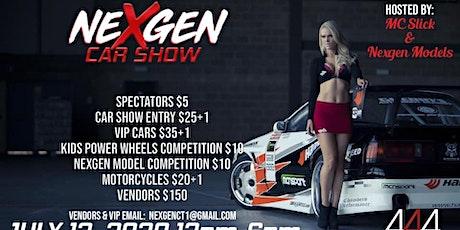 NeXgen Car Show & Model Competition tickets