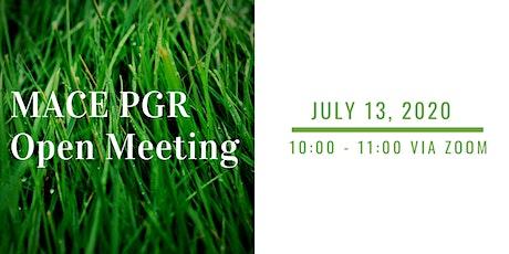 MACE PGR Open Meeting tickets