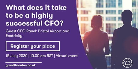 What does it take to be a highly successful CFO? tickets
