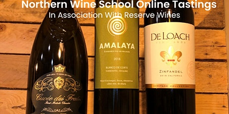 Online Wine Tasting in Conjunction with Reserve Wines Tickets