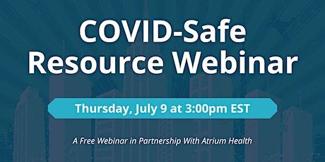 Covid-Safe Resource Webinar tickets