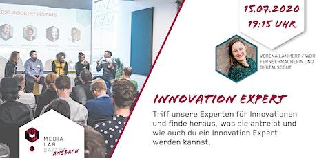 Media Lab Ansbach - Innovation Expert Tickets