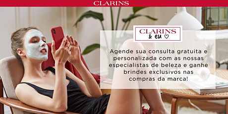 Clarins & Eu   Consultas de Beleza Gratuitas tickets