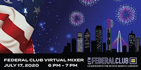 HRC DFW Federal Club July Virtual Mixer tickets