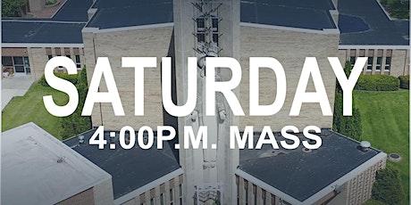 July 25, 2020 - 4:00 p.m. Mass tickets