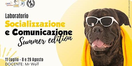 Laboratorio di socializzazione e comunicazione del cane biglietti