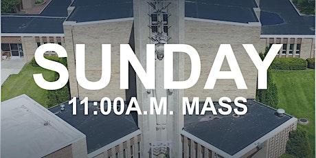 July 26, 2020 - 11:00 a.m. Mass tickets