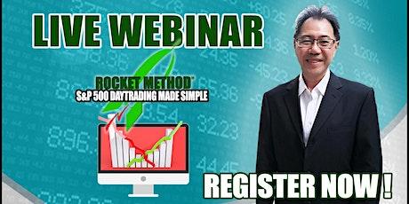 FREE Webinar: ROCKET METHOD™ TRADING tickets