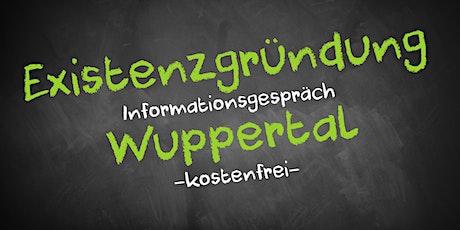 Existenzgründung Online kostenfrei - Infos - AVGS Wuppertal Tickets