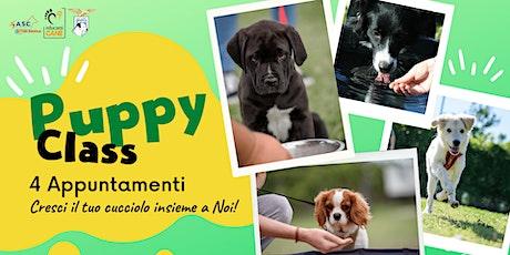 Puppy Class - Cresci il tuo cucciolo insieme a Noi! biglietti