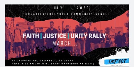 Faith. Justice. Unity. Rally/March tickets