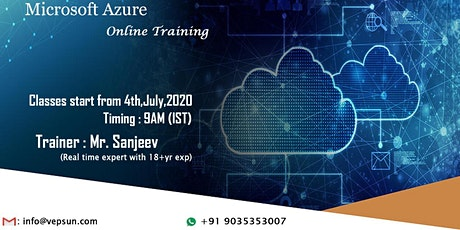 Microsoft Azure Training @ Vepsun Technologies tickets