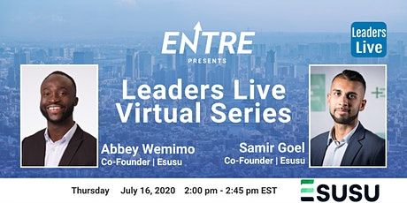 Leaders Live Series w/ Co-founder of Esusu tickets