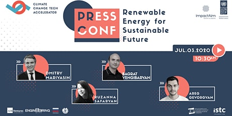 STARTUP REGISTRATION | Press Conf: Renewable Energy for Sustainable Future tickets