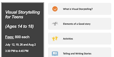 Visual Storytelling for Teens tickets