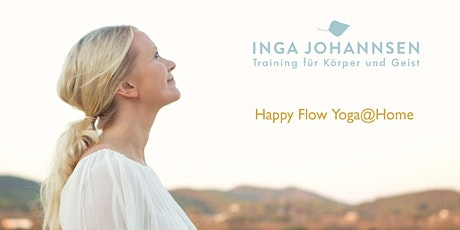 Happy Flow Yoga@Home (Livestream Yoga Session, Level 1-2) Tickets