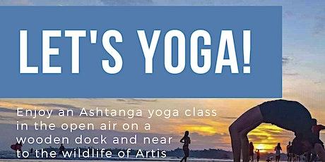 Outdoor Ashtanga yoga summer class tickets