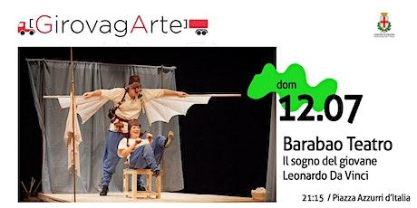 Il sogno del giovane Leonardo da Vinci - Barabao Teatro biglietti