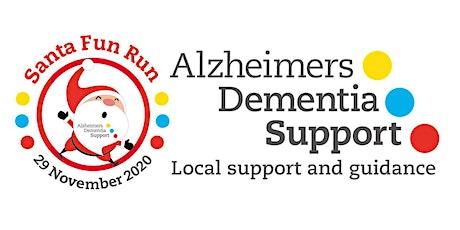 Alzheimers Dementia Support ADS Santa Fun Run 5k Run 29th November 2020 tickets