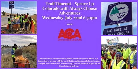 Trail Timeout - Spruce up Colorado with Always Choose Adventures tickets