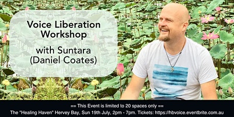 Voice Liberation Workshop with Suntara - Hervey Bay tickets