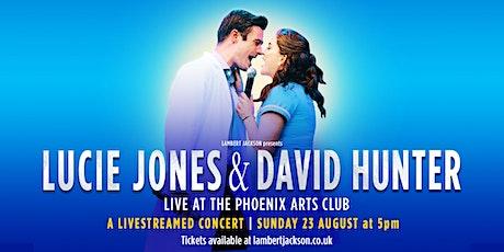 LUCIE JONES & DAVID HUNTER - Live at the Phoenix Arts Club tickets