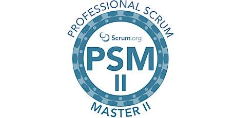Professional Scrum Master II -Setembro ingressos