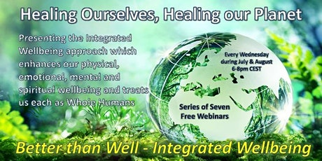 Integrated Wellbeing for Whole Humans - Webinar 2of7 tickets