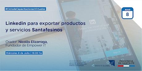 Linkedin para exportar Productos y Servicios Santafesinos entradas