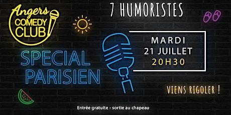 Angers Comedy Club - Mardi 21 juillet 2020 / Les Folies Angevines billets