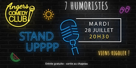 Angers Comedy Club - Mardi 28 juillet 2020 / Les Folies Angevines billets