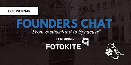 Founders Chat Webinar ft. Fotokite tickets