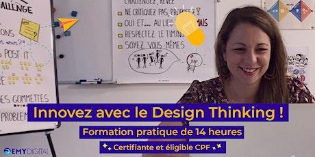 Formation à distance :  Innovez avec le Design Thinking ! billets