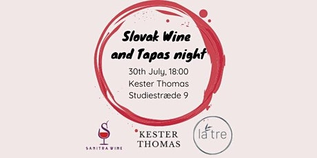 Slovak Wine and Tapas night tickets
