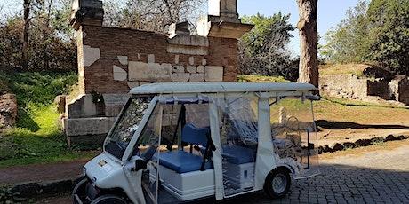 In minicar sull'Appia Antica biglietti