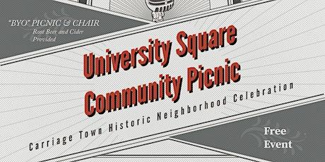University Square Community Picnic tickets