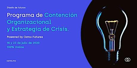 Live Session: Contención Organizacional y Estrategia en Crisis entradas