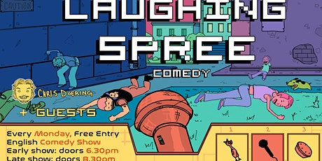 FREE ENTRY English Comedy Show - Laughing Spree 06.07. EARLY SHOW tickets