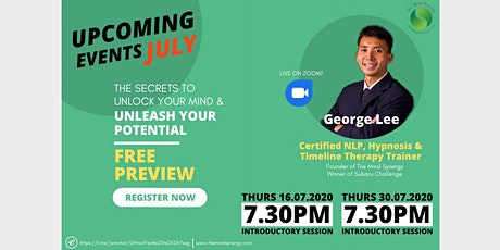 What are the secrets to unlock your mind and maximise your potential? tickets