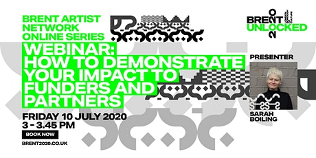 How to demonstrate your impact to partners and funders tickets