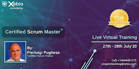 Certified Scrum Master(CSM) tickets