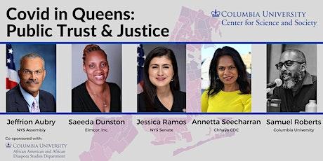 Covid in Queens: Public Trust & Justice tickets