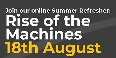 Rise of the machines tickets