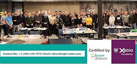 Certified Scrum Master l CSM Training l Live Virtual I Remote Class tickets