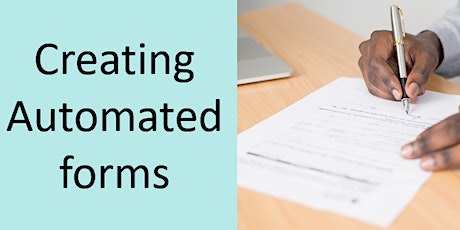 Creating an automated form using Microsoft Forms tickets