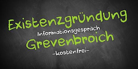 Existenzgründung Online kostenfrei - Infos - AVGS Grevenbroich Tickets