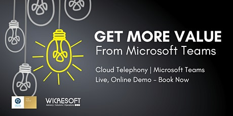Get the Most Out of Microsoft Teams - Cloud Telephony Integration tickets